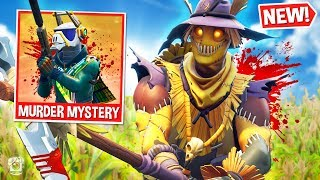 *FUNNY* MURDER MYSTERY w/ SCARECROW Custom Gamemode in Fortnite Battle Royale! *SEASON 6*