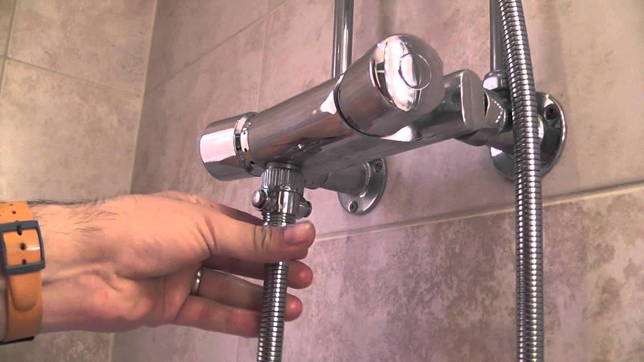 Shower Shut Off Valve Flow Control Stop Saving Water