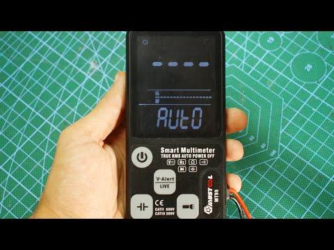 Обновленный SMART мультиметр Mustool MT99