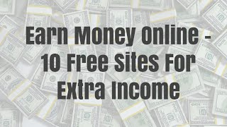 extra income without investment