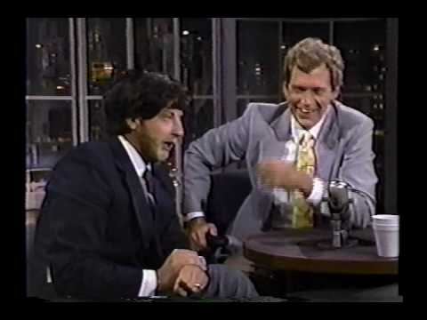 Chris Elliott as Marv Albert on Letterman