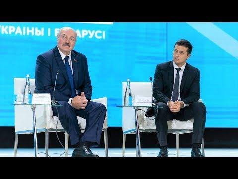 Зеленский заговорил по-белорусски при Лукашенко - Речь Президента Украины