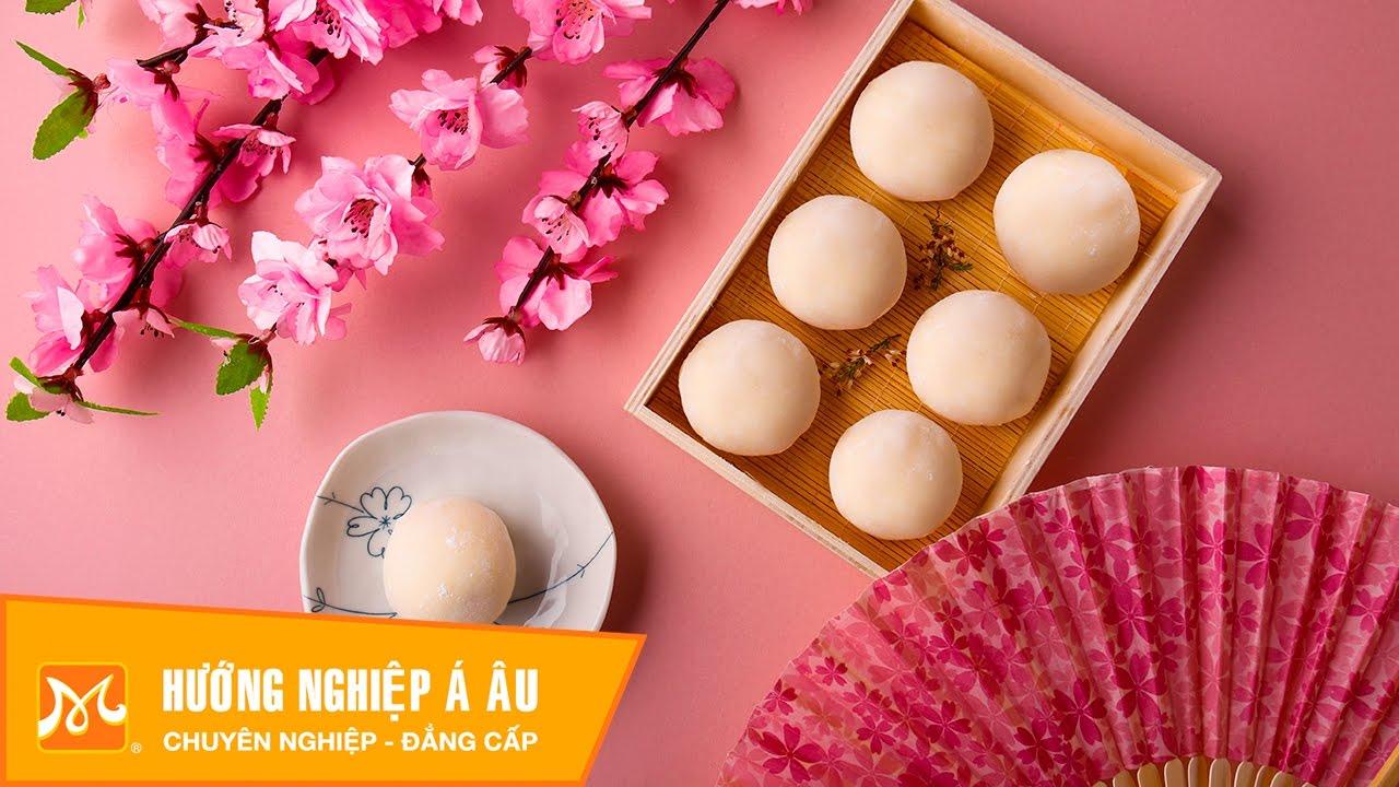 Học làm bánh Nhật - Cách làm bánh mochi kem ngon tuyệt (Mochi Cream)