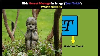 How to hide secret message in image (Steganography)|Very Simple