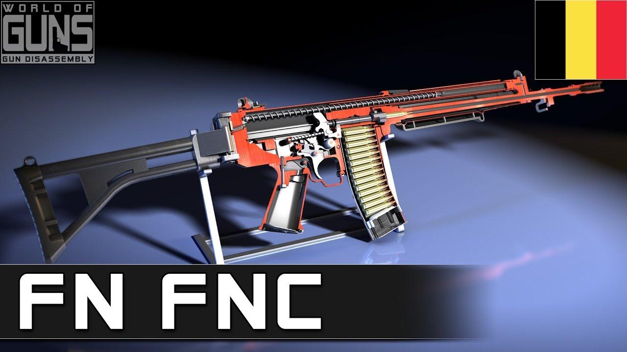 FN FNC assault rifle - Modern Firearms