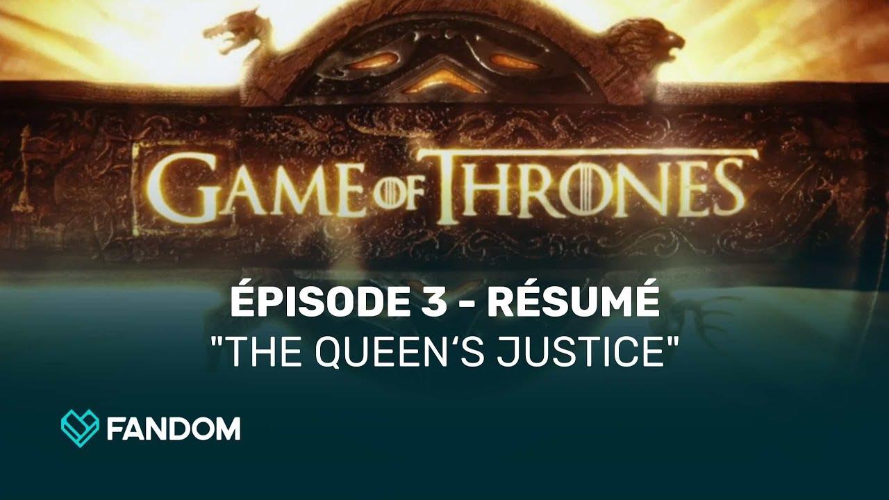 Game Of Thrones Saison 7 épisode 3 Résumé Youtube