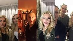 Katheryn Winnick & Vikings Cast | Instagram Live Stream | Vikings Season 5 Premiere |