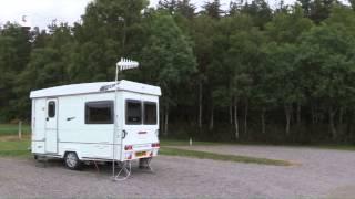 CAMPSITE Highland, Culloden Moor Caravan Club Site