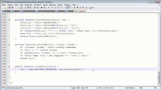 Создание движка. ADMIN панель 5.3