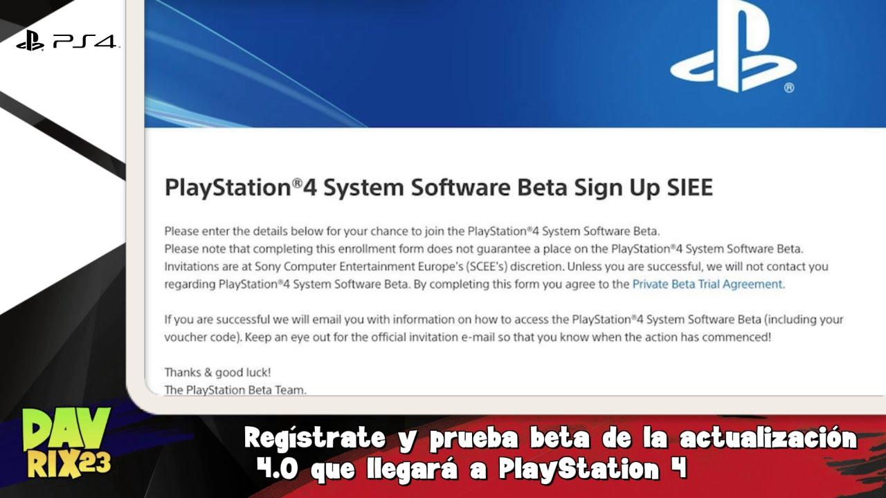 Regístrate y prueba beta de la actualización 4.0 que llegará a ...