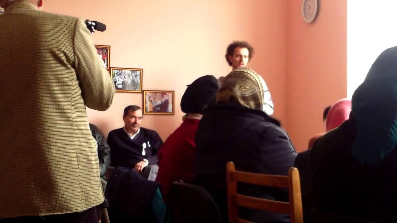 Discuții la Ruseștii Noi cu primarul și cu Oleg Brega