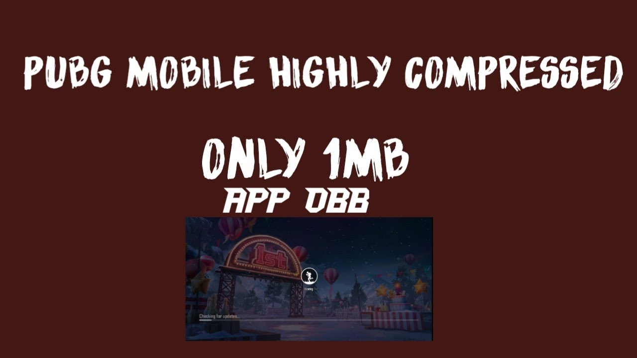 [1 mb]pubg mobile APK+OBB Download for Android Highly compressed  #Smartphone #Android