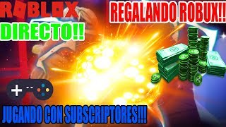 Playing With Roblox Subscribers LIVE REGALAND0 R0BUX ? Come Join Play and Participate!!