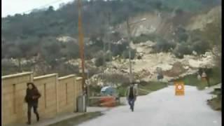 Deslizamiento de tierra en Italia - Feb.2010