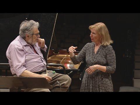 Margarita Höhenrieder and Leon Fleisher - In Rehearsal