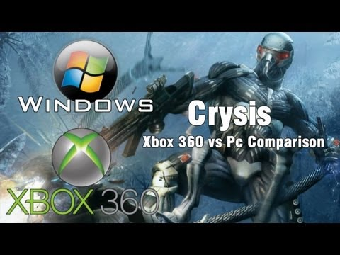 Crysis - Xbox 360 vs PC Comparison