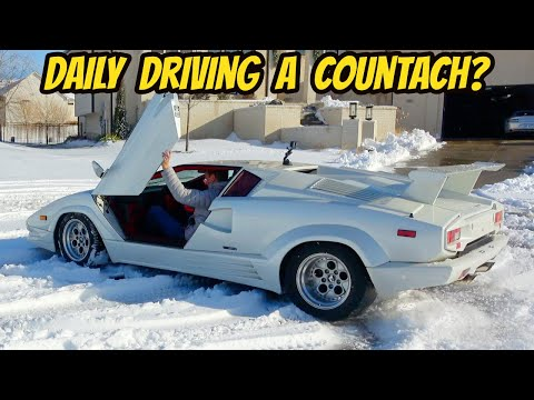 My Lamborghini Countach Is A Terrible Car That Everybody Dreams To Own (And For A GOOD Reason)