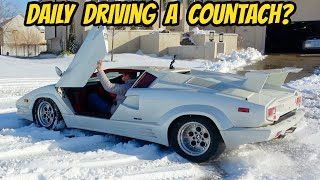 homepage tile video photo for My Lamborghini Countach Is A Terrible Car That Everybody Dreams To Own (And For A GOOD Reason)