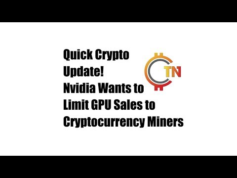 Cryptocurrency affects on gpu sales