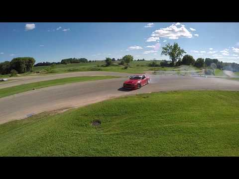 Drift Day LE Logan Henning 1JZ Coupe US Air Raw Footage #2