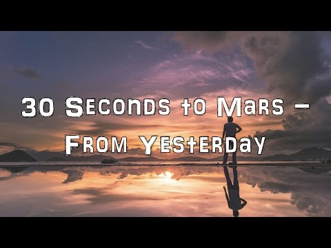 30 Seconds to Mars - From Yesterday [Acoustic Cover.Lyrics.Karaoke]