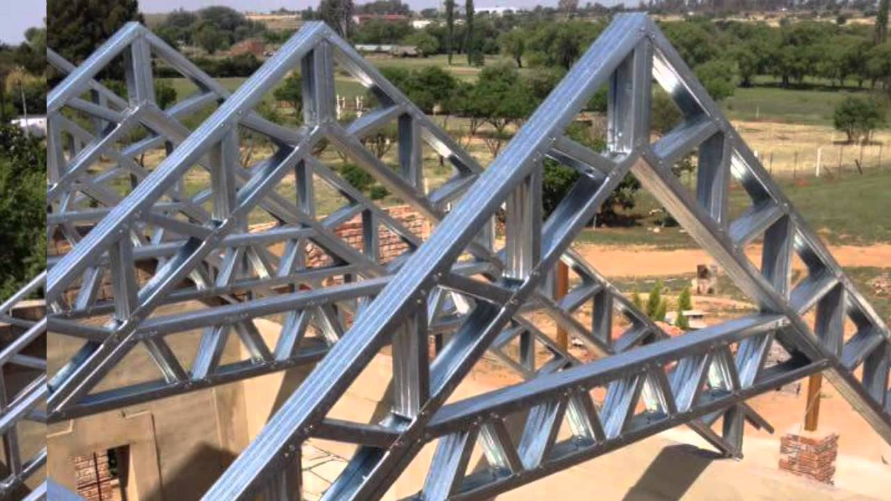 av light steel custom roof trusses - Metal Roof Trusses