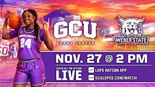 GCU Women's Basketball vs Weber State  |  Nov. 27, 2020