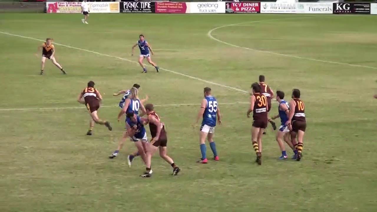 Round 6 - Drysdale v Barwon Heads Throw Ins