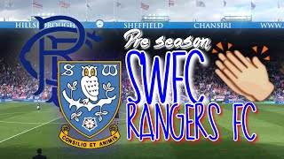 SWFC VS RANGERS FC⚽  // Rangers Fans Are Class!!💙