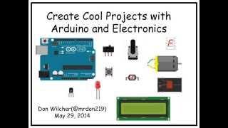Coole Projekte mit dem Arduino und Elektronik - O ' Reilly Webcast