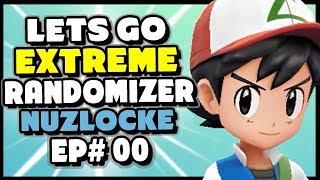 Pokemon Lets Go Pikachu and Eevee EXTREME Randomizer Nuzlocke Episode 0 - The Rules!