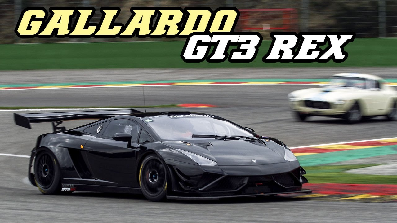 Lamborghini Gallardo Gt3 R Ex V10 Scream Spa 2017 Youtube