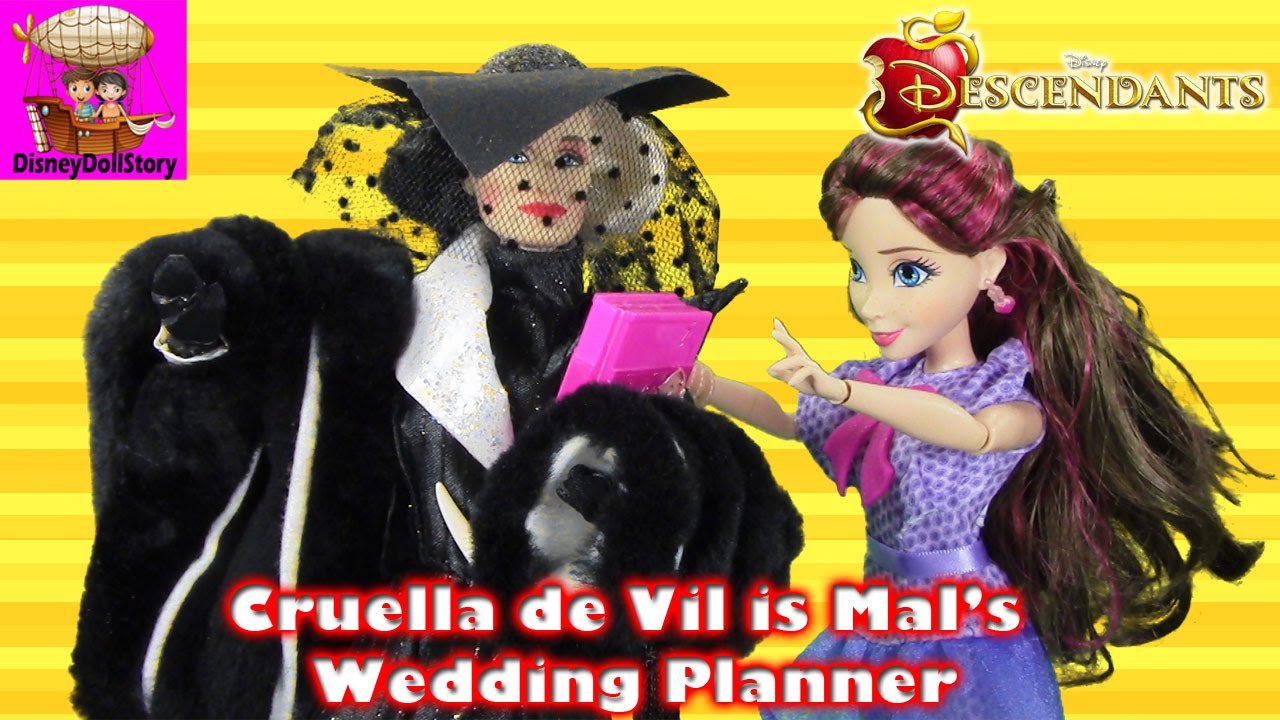 Cruella De Vil Is Mals Wedding Planner Part 1 Fairy Tale Wedding