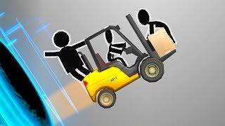 - Я Самый Лучший Инженер Конструктор в игре Bridge Constructor Portal про порталы и машинки от ФГТВ