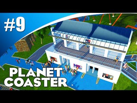 ROMEINS GEBOUW MAKEN! (Planet Coaster Alpha #9)