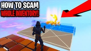 How To Scam A Scammer Whole Inventory! (Scammer Gets Scammed) Fortnite Save The World
