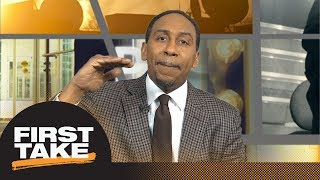 stephen a smith rips lebron james for calling out critics of cavaliers first take espn
