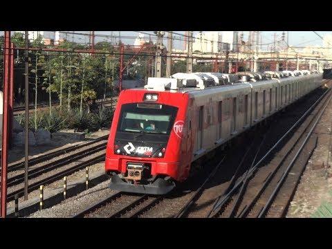 CPTM - A bordo CAF 8000 ( Barra Funda até Júlio Prestes )