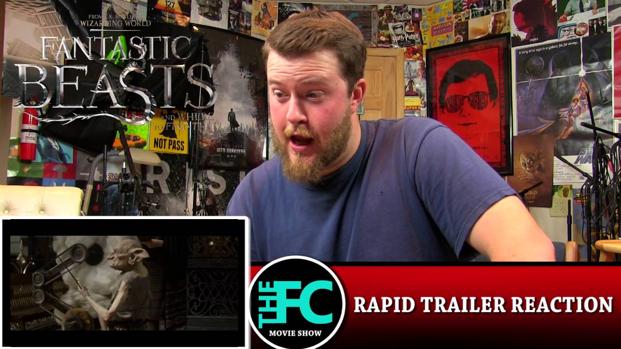 Rapid TRAILER Reaction - Fantastic Beasts and Where to Find Them Comic-Con Trailer