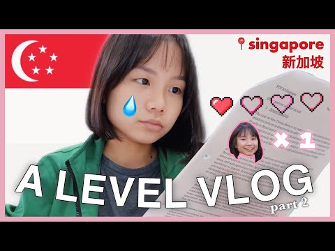 Singapore GCE A Level VLOG Part 2 (Junior College Student) 📝📚 | Charlene Chua