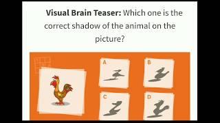 Brain Teasers Pdf