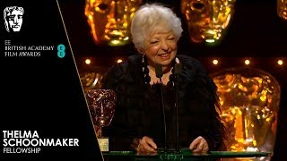 Thelma Schoonmaker Receives BAFTA Fellowship | Full Speech | EE BAFTA Film Awards 2019