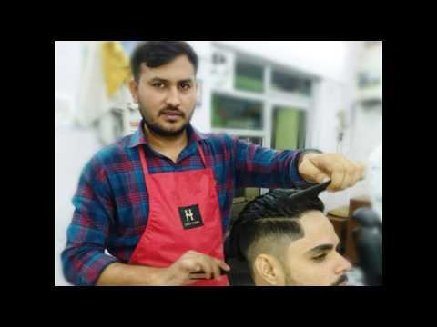 Delhi 🇮🇳 fire hair cut & arslaan saloon