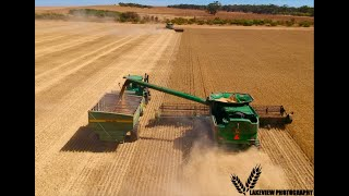 Australia wheat harvest 2018