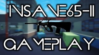 INSANE 65-11 GAMEPLAY - AUG A1 | Phantom Forces (ROBLOX)