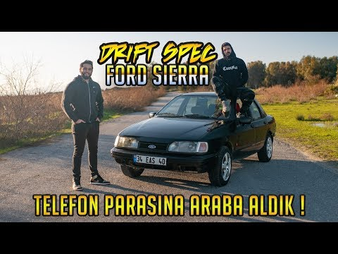 iPhone Parasına Ford Sierra 2.0 GLS Drift Arabası Aldık / Modifiyesiz Yanlıyor Mu ? Test Ettik