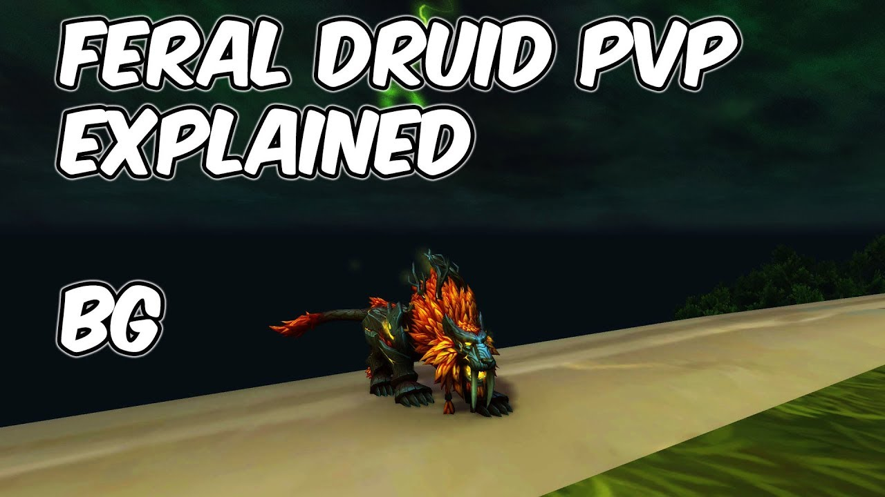 7 3 5 Feral Druid PvP Explained - 7 3 5 Feral Druid PvP Guide - WoW