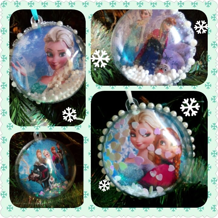 diy boules de noel reine des neiges frozen 39 s christmas balls disney youtube. Black Bedroom Furniture Sets. Home Design Ideas