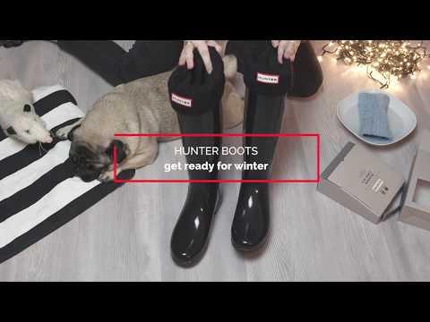 Hunter Boots richtig reinigen und pflegen | Gummistiefel reinigen DIY | Winter boots