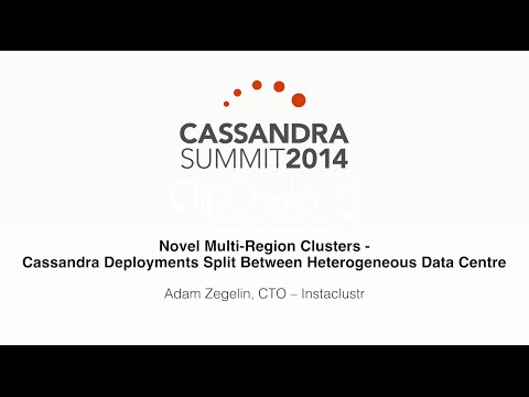 Instaclustr: Multi-Region Clusters — Cassandra Deployments Split Between Heterogeneous Data Centre